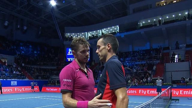 ATP San Petersburgo: Bautista no puede con Wawrinka y se queda a las puertas de la final