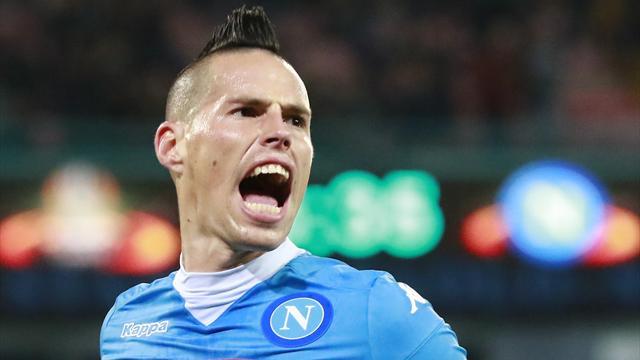 Napoli-Real, Hamsik: