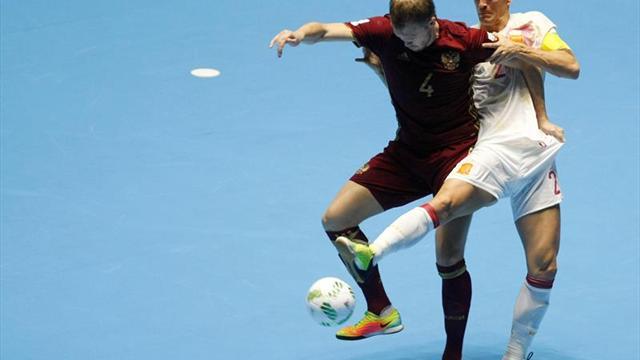 Eliminada Brasil, Portugal es favorita en el Mundial de Fútsal