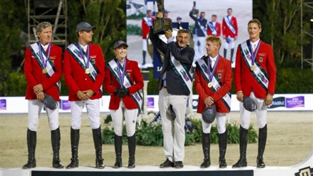 Fairytale end for Beerbaum as Germany win FEI Nations Cup Jumping 2016 title
