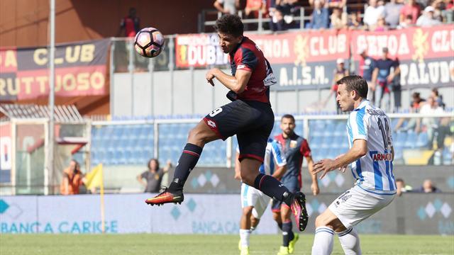 Pescara-Genoa: probabili formazioni e statistiche