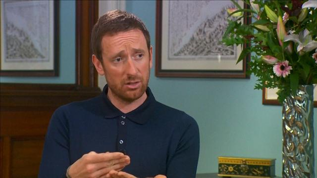 Wiggins defends his TUE use in big TV interview