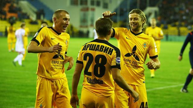 Новый шедевр в исполнении правой ноги Аршавина в матче чемпионата Казахстана