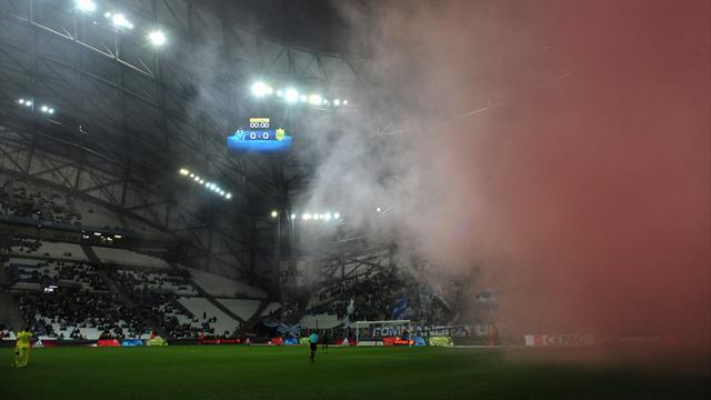 Marseille – Nantes a démarré dans un nuage de fumée rouge