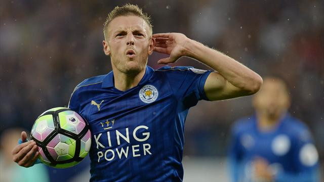 Vardy is only Englishman on World XI list as Rooney misses out