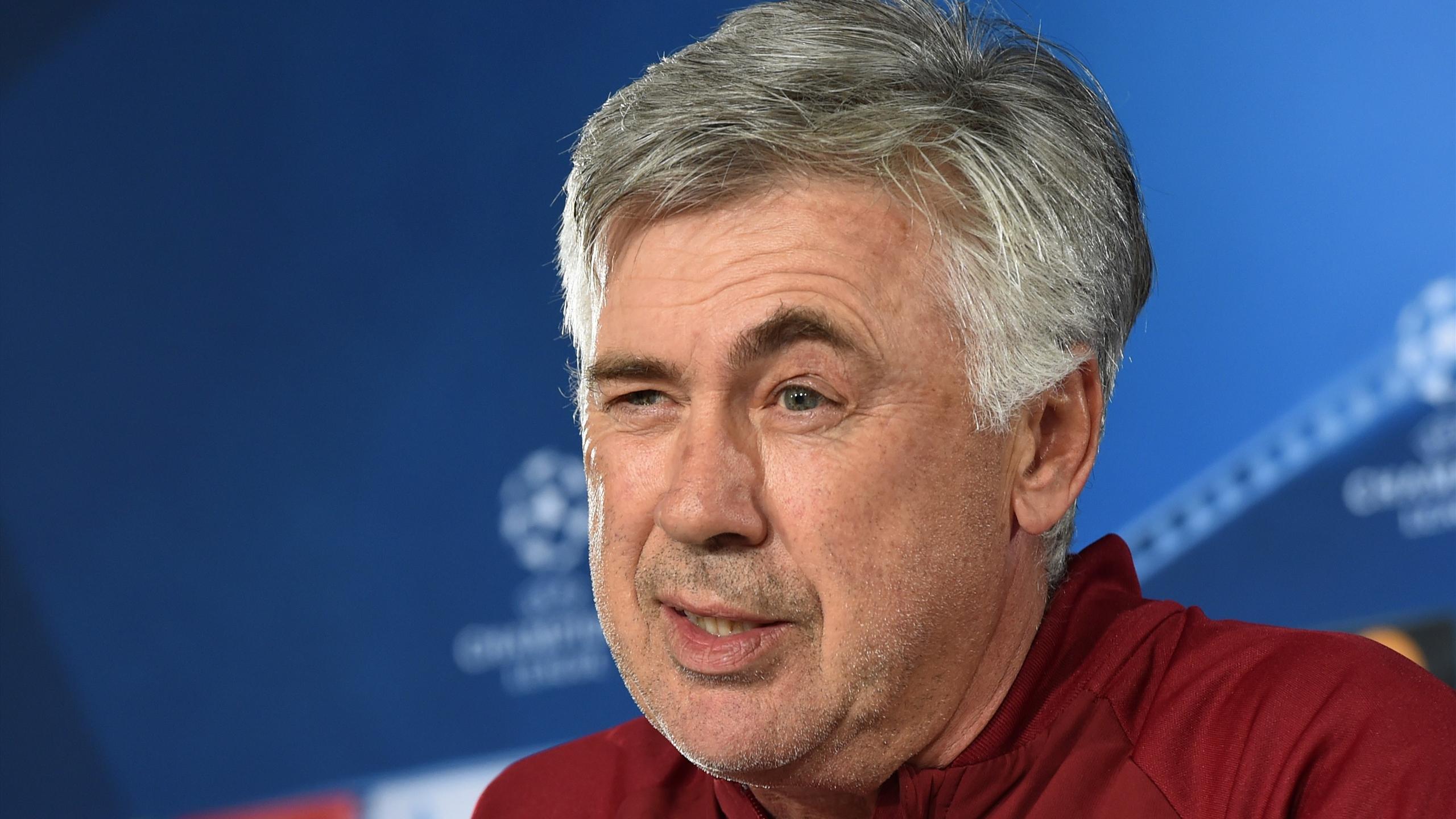 Carlo Ancelotti, l'entraîneur du Bayern Munich