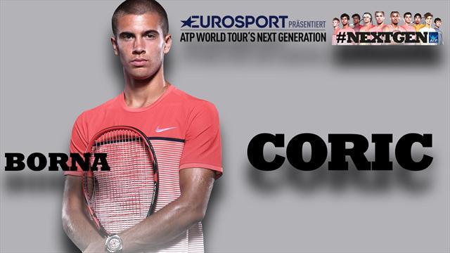 """Tennis-Rookie Coric exklusiv: """"Vielleicht wäre ich Boxer geworden"""""""