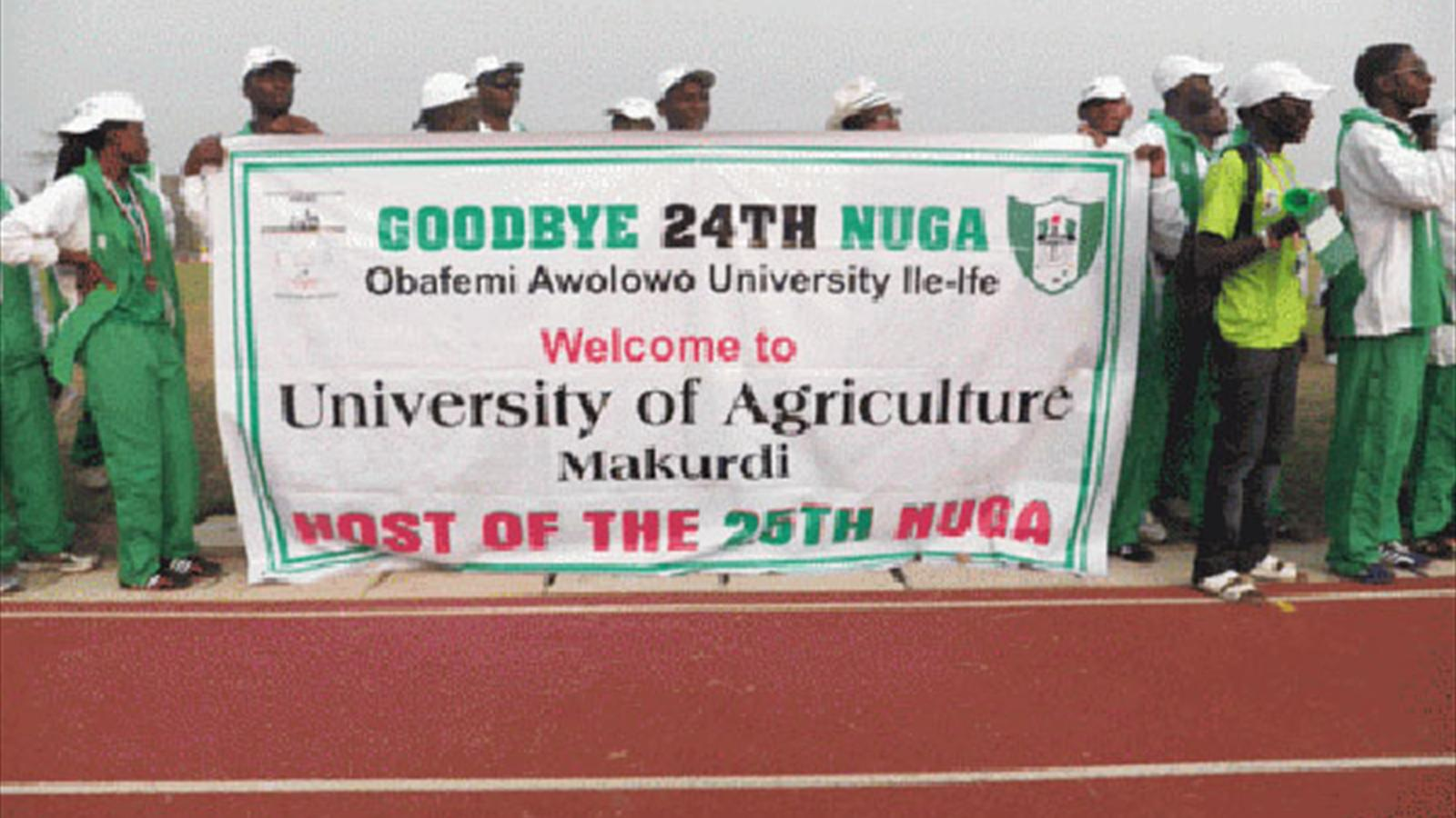 25th nigerian university games coming up university - University league tables french ...