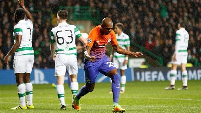 Mánchester City arranca un trabajado empate en Glasgow (3-3)