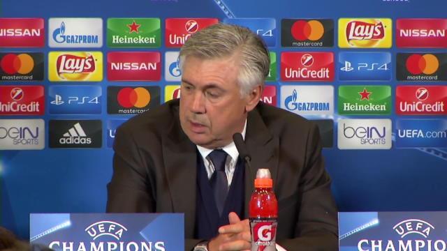 Ancelotti : »Après le but de l'Atlético, c'était compliqué»