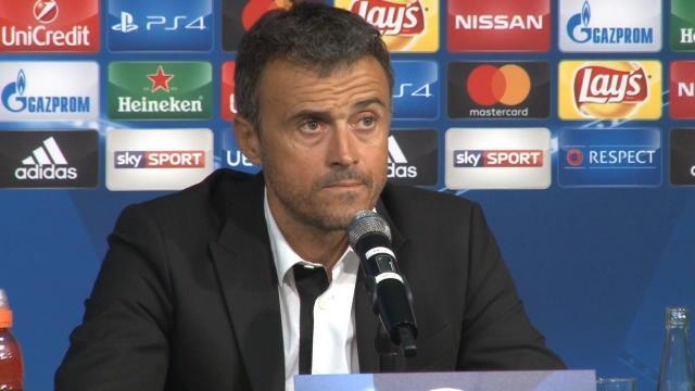 Enrique : «Mönchengladbach a changé de tactique et on ne s'y attendait pas»