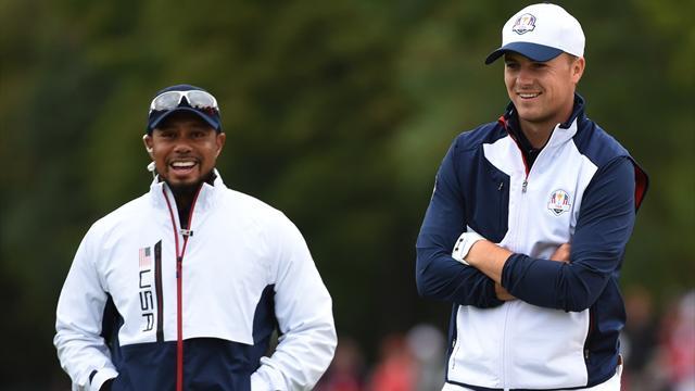 Tiger Woods, vice-capitaine et porteur d'eau