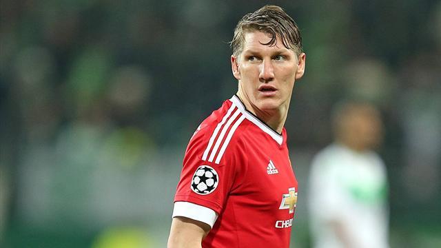 Schweinsteiger s'entraîne à nouveau avec l'équipe première de Man U