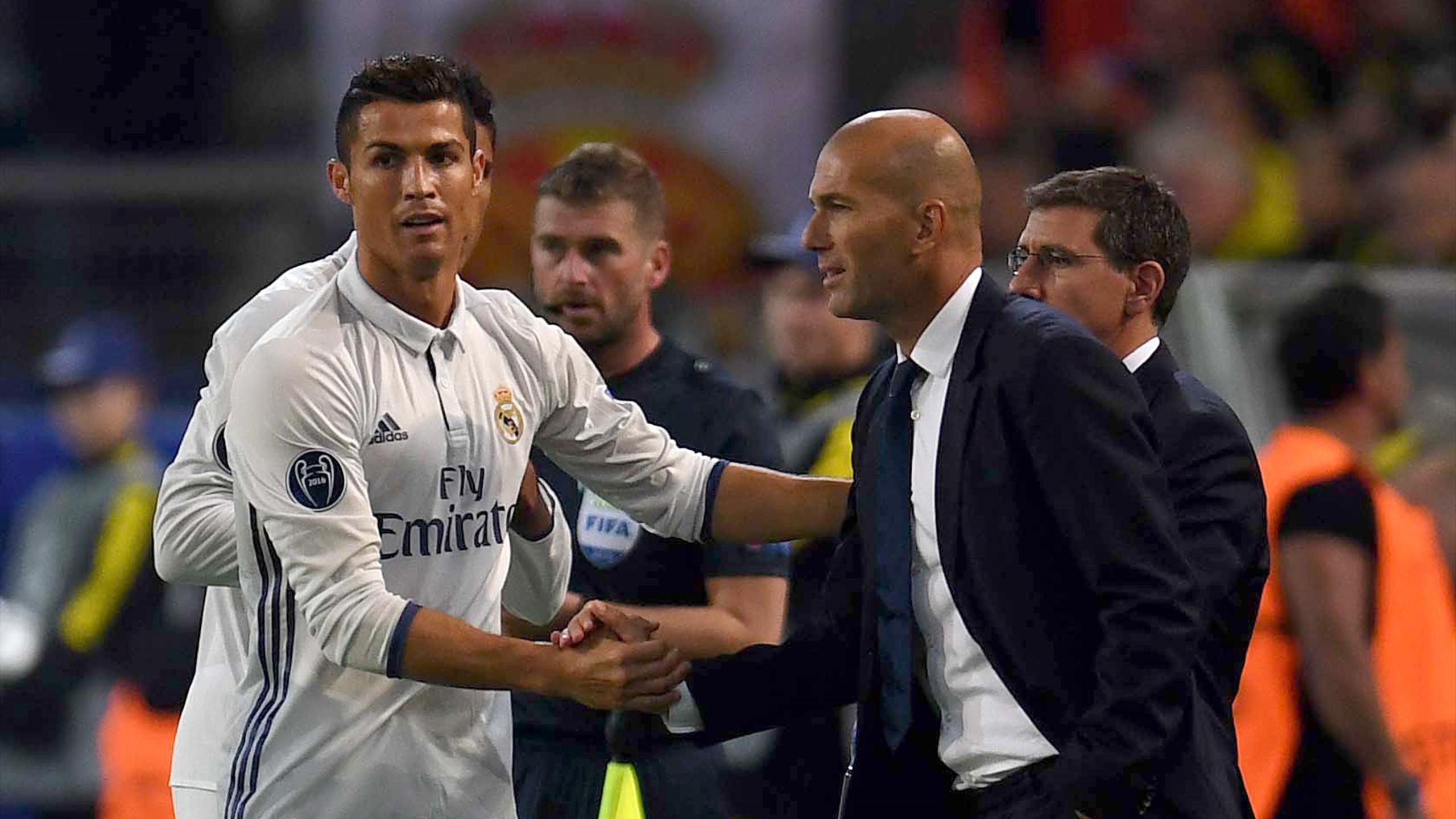 Криштиану Роналду, Зинедин Зидан («Реал Мадрид»)