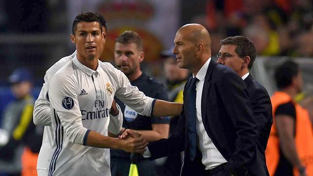"""Zidane : """"Ce que je retiens de Cristiano ce mardi soir, c'est qu'il a délivré des passes décisives"""""""