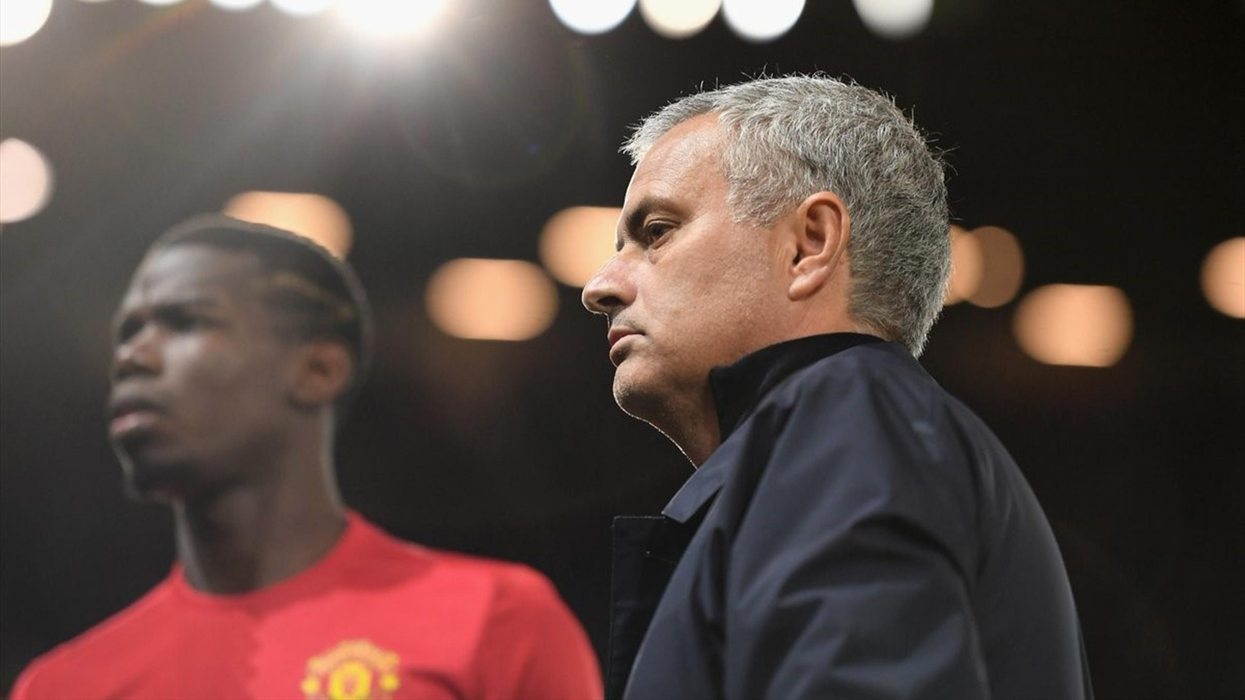 Моуринью и Погба, «Манчестер Юнайтед»