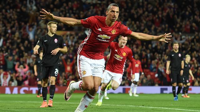 Zlatan sauve Manchester United, Totti régale la Roma, l'Inter au plus mal