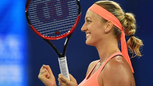 Kvitova fera bien son retour à Roland