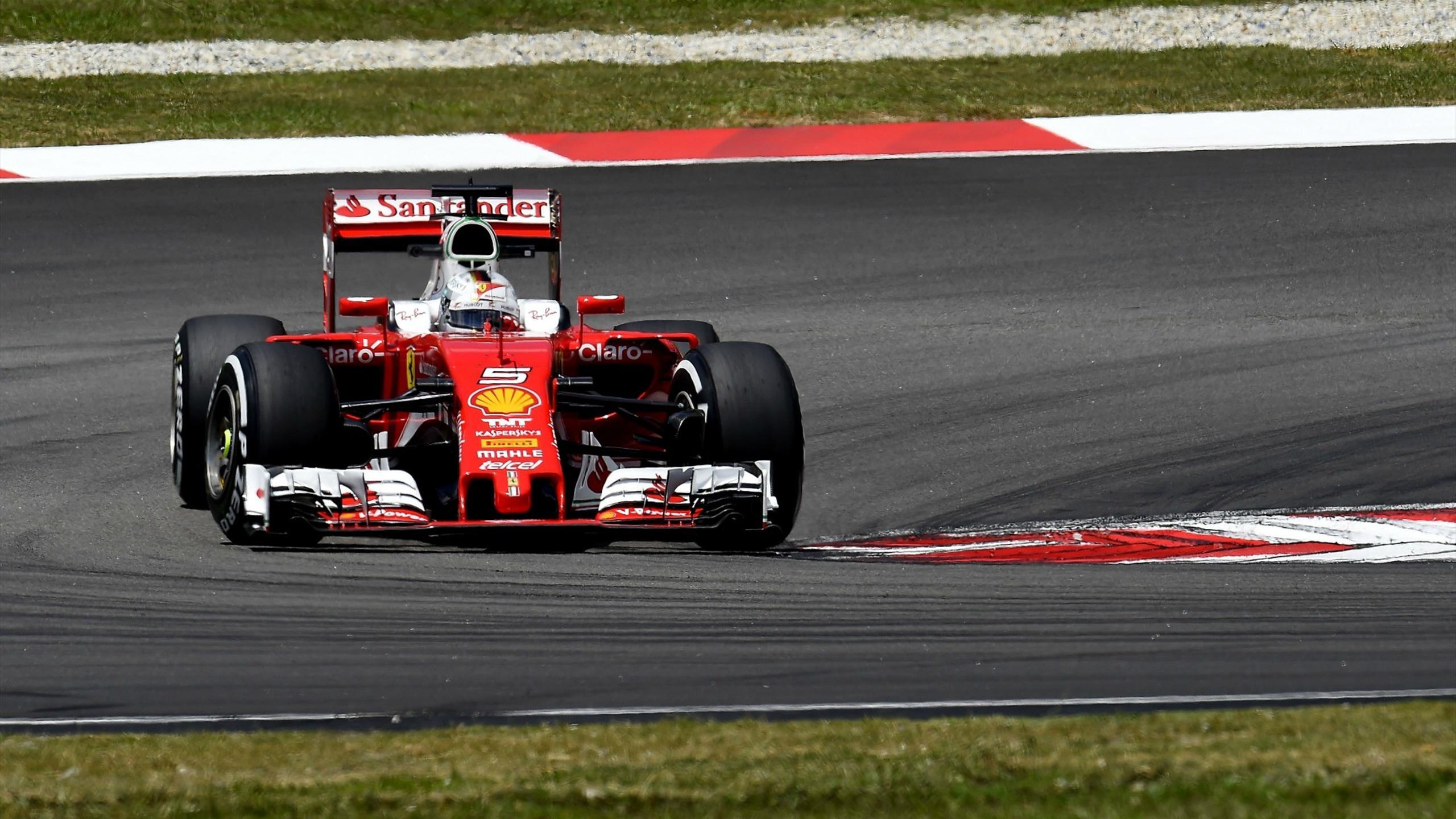 Sebastian Vettel (Ferrari) au Grand Prix de Malaisie 2016