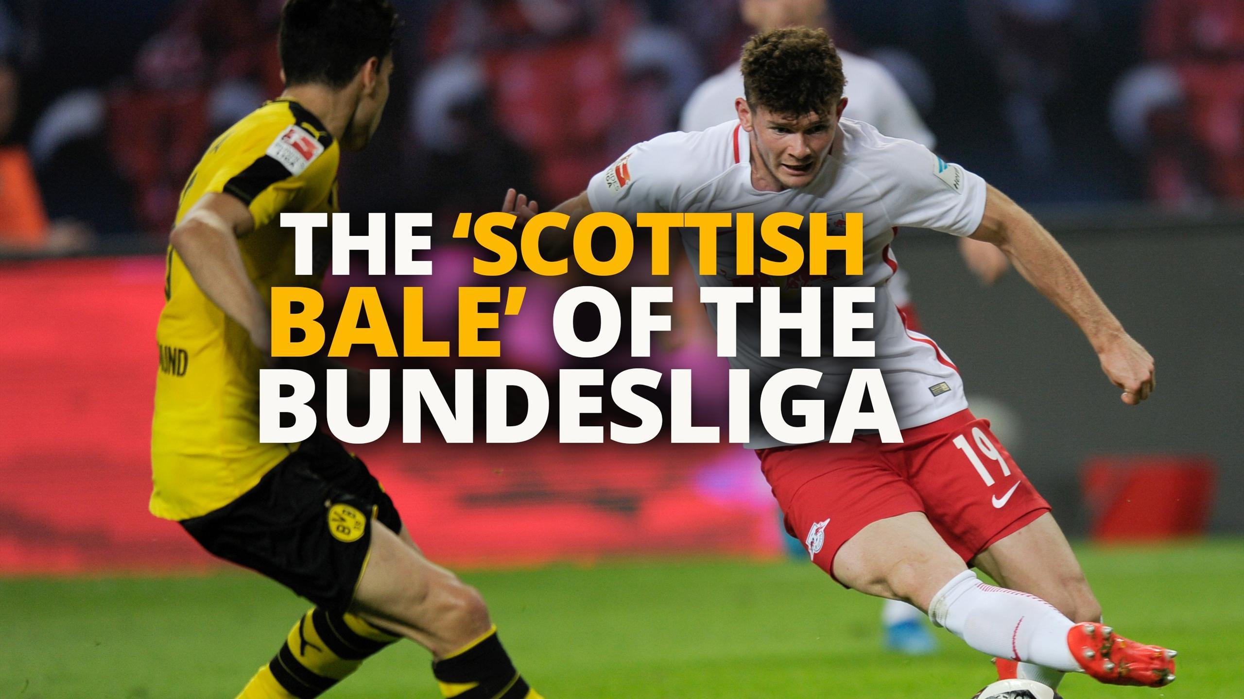 The 'Scottish Bale' taking the Bundesliga by storm