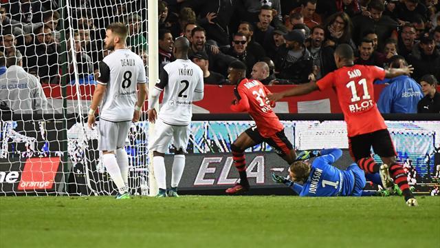 Rennes a insisté et Guingamp a fini par craquer