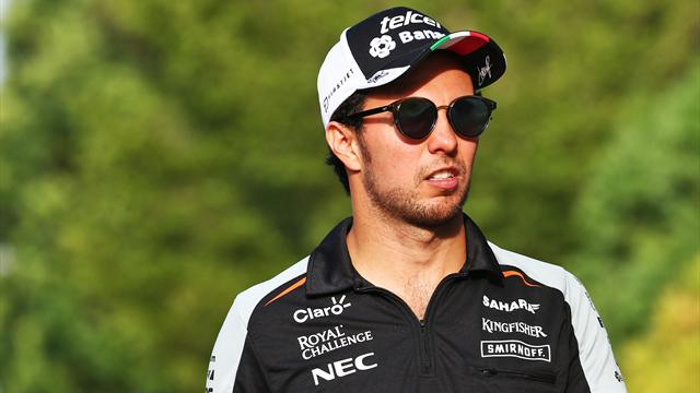 Force India confirme Pérez pour 2017