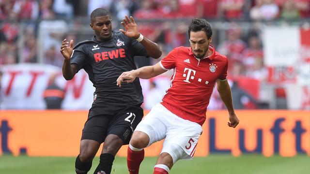Le Bayern freiné par Cologne, Dortmund s'incline à Leverkusen : coup d'arrêt pour les cadors