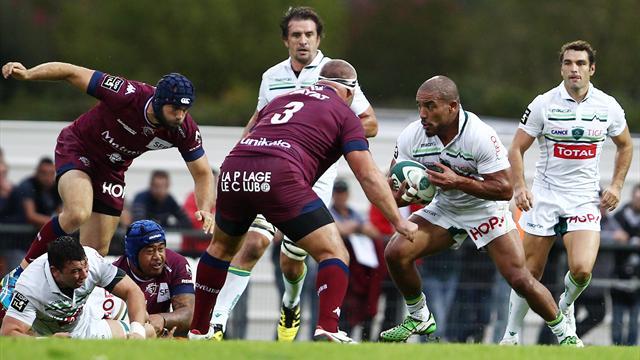 Bordeaux-Bègles ramène Pau sur terre