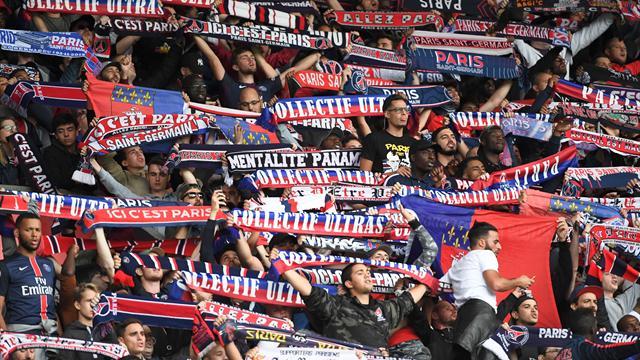 Les Ultras parisiens étaient bien présents en tribunes