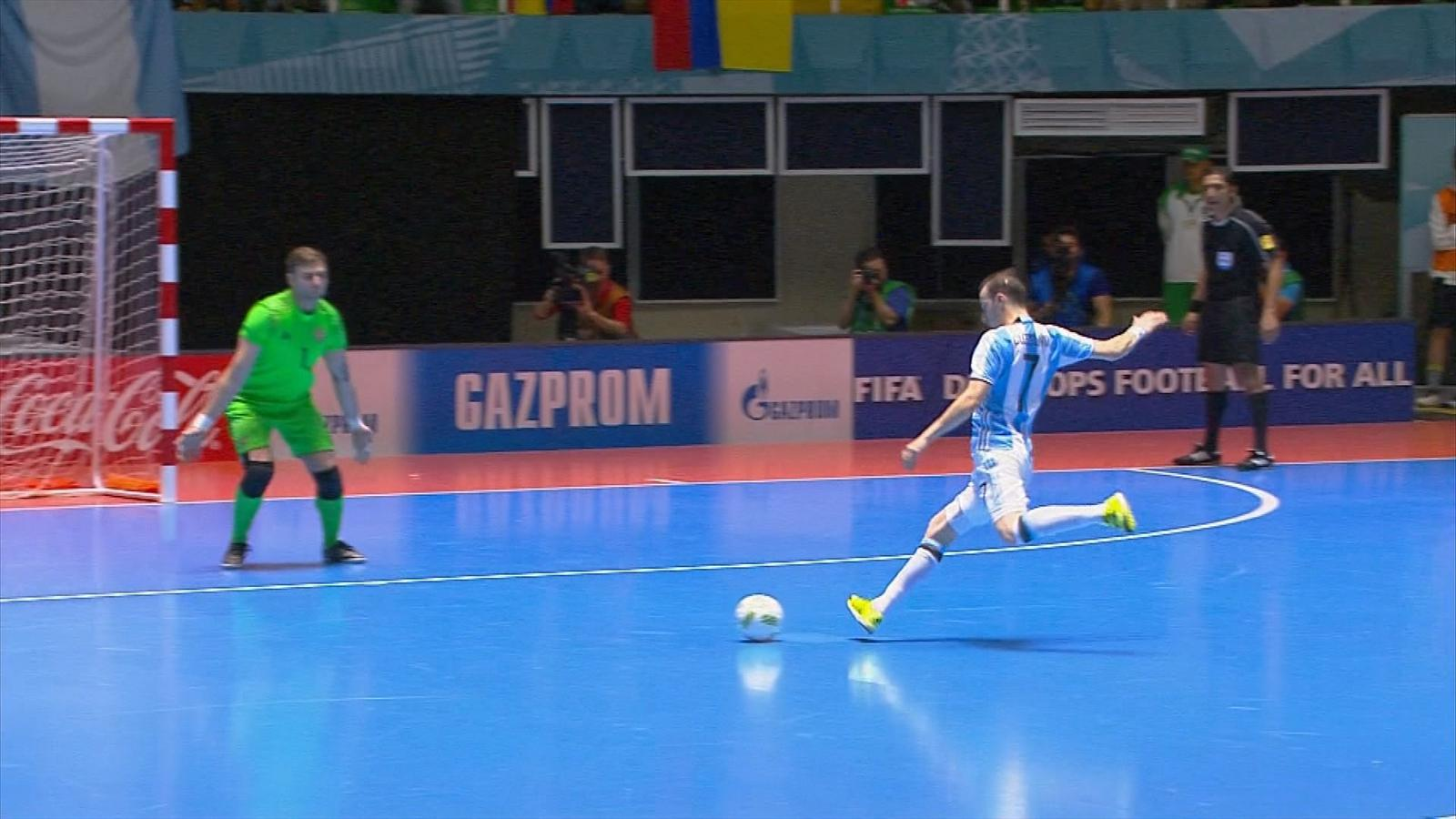 VIDEO - Argentina overcome Russia to claim Futsal World Cup - Video Eurosport