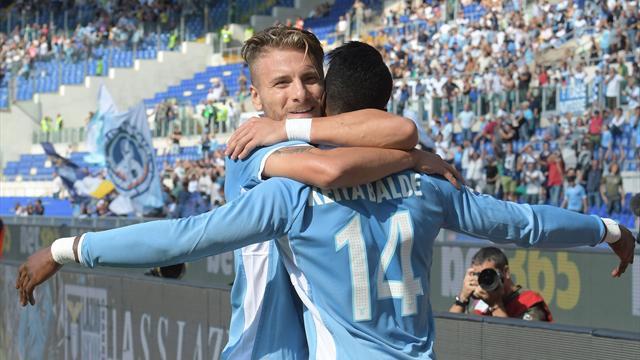 La Lazio se hisse sur le podium, talonnée par le Chievo