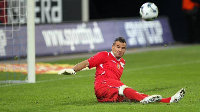 Вратарь отразил пенальти спиной вматче 5-ого футбольного дивизиона Франции