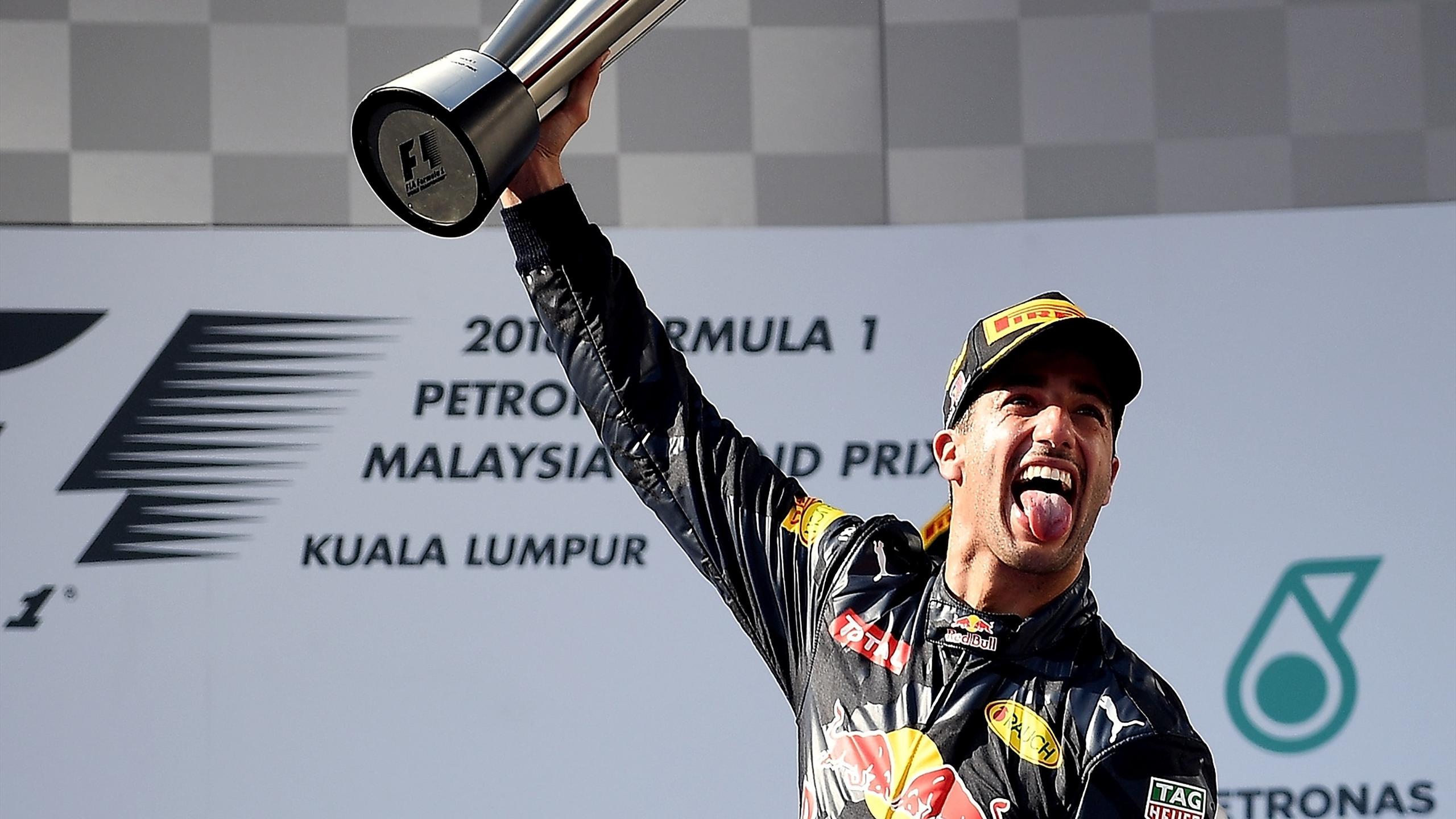 Daniel Ricciardo (Red Bull) au Grand Prix de Malaisie 2016