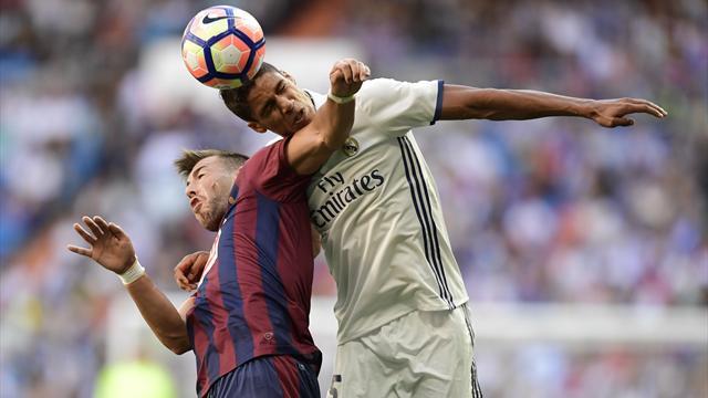 Varane touché à une cuisse, Benzema à un genou : sale dimanche pour les Français du Real