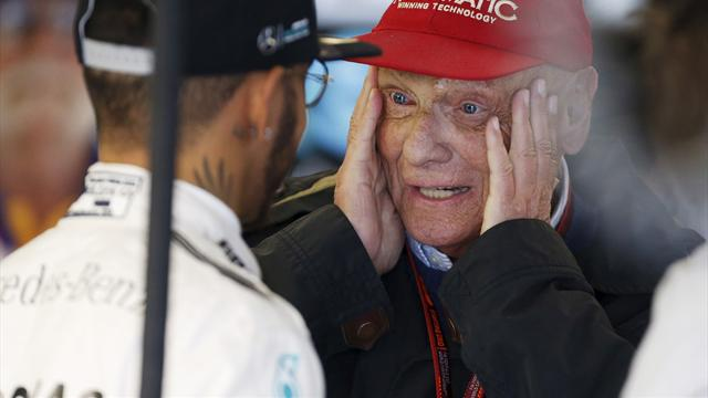 Niki Lauda slams talk of 'sabotage' against Hamilton at Mercedes