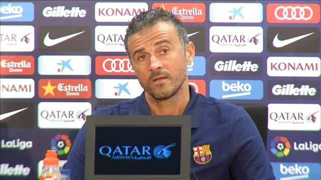 """Luis Enrique sobre Guardiola: """"No es un duelo entre entrenadores"""""""
