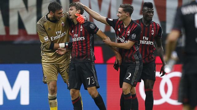 «Милан» одержал победу над «Сассуоло», проигрывая походу матча 1:3