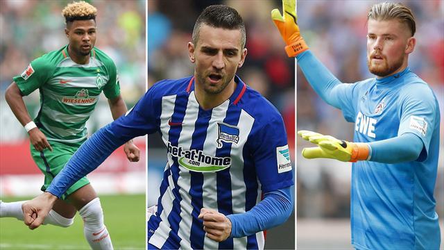 Elf der Woche mit Werder-Hoffnung Gnabry, Doppelpacker Ibisevic und Köln-Keeper Horn
