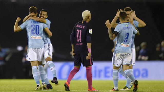 Le Barça coule encore à Vigo