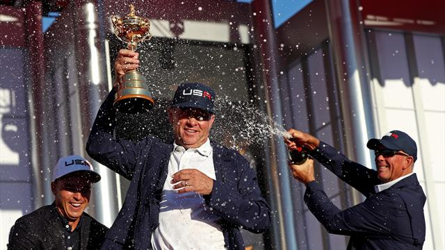 USA reclaim Ryder Cup with near-perfect final day performance against Europe