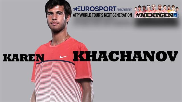 """Khachanov exklusiv: """"Djokovic mit Abstand der Beste"""""""