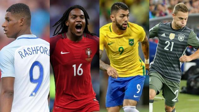 Rashford, Renato Sanches, Kimmich… Les 10 jeunes qu'on imagine déjà être les stars du Mondial 2018