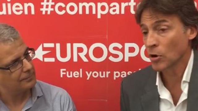 """Rafa Pascual en Eurosport: """"Estamos movilizando a la gente del voleibol"""""""