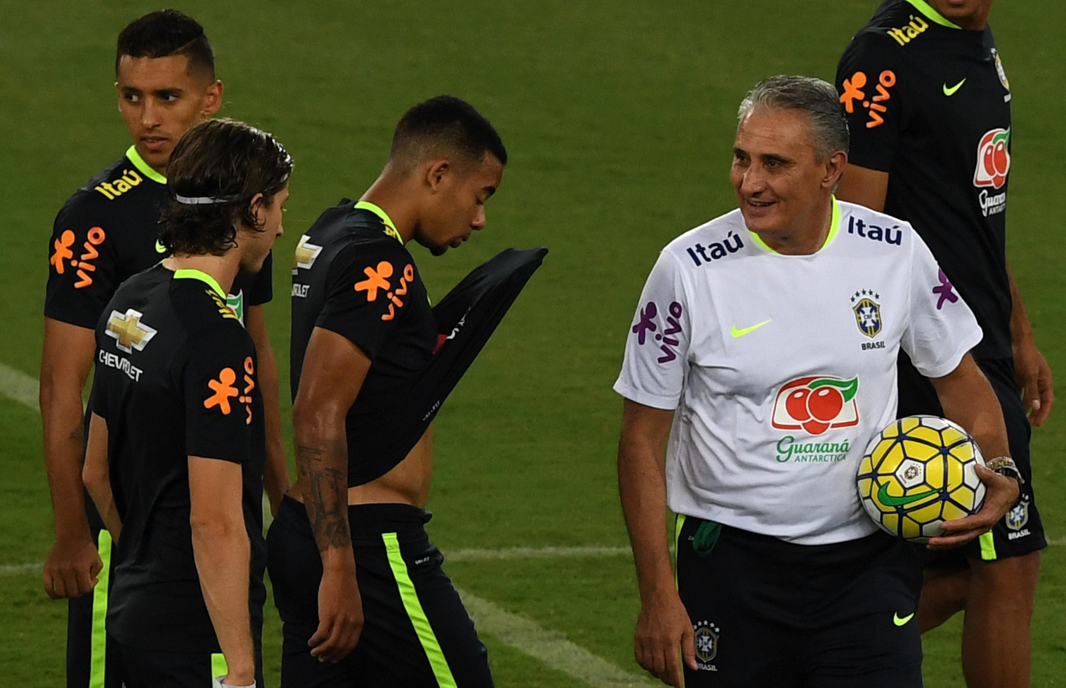 Тите и сборная Бразилии