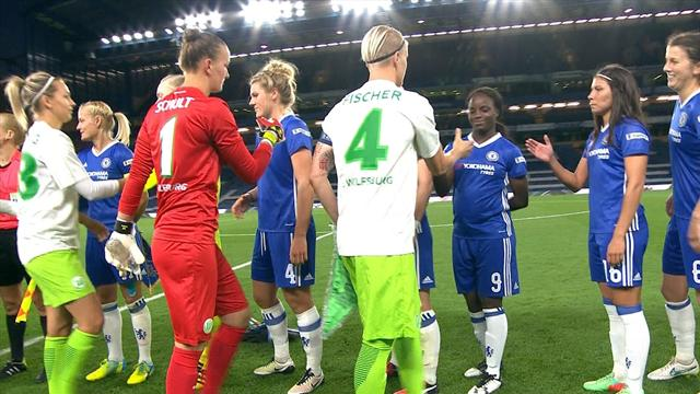 Wolfsburg ease to win over Chelsea