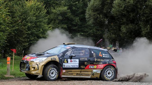 Smokin' Botka battles to fourth on ERC Cyprus Rally