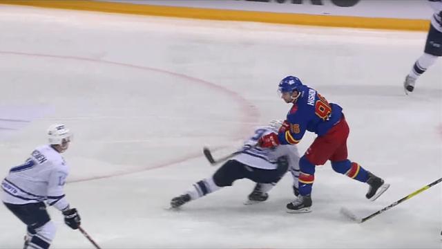 «Динамо» разбило финский «Йокерит» вматче КХЛ