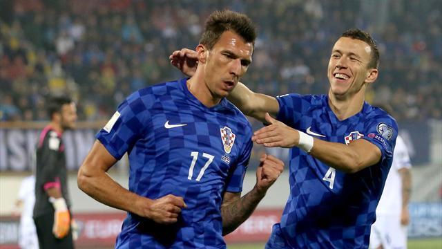 Mandzukic et la Croatie se baladent, l'Islande s'arrache, le Pays de Galles cale