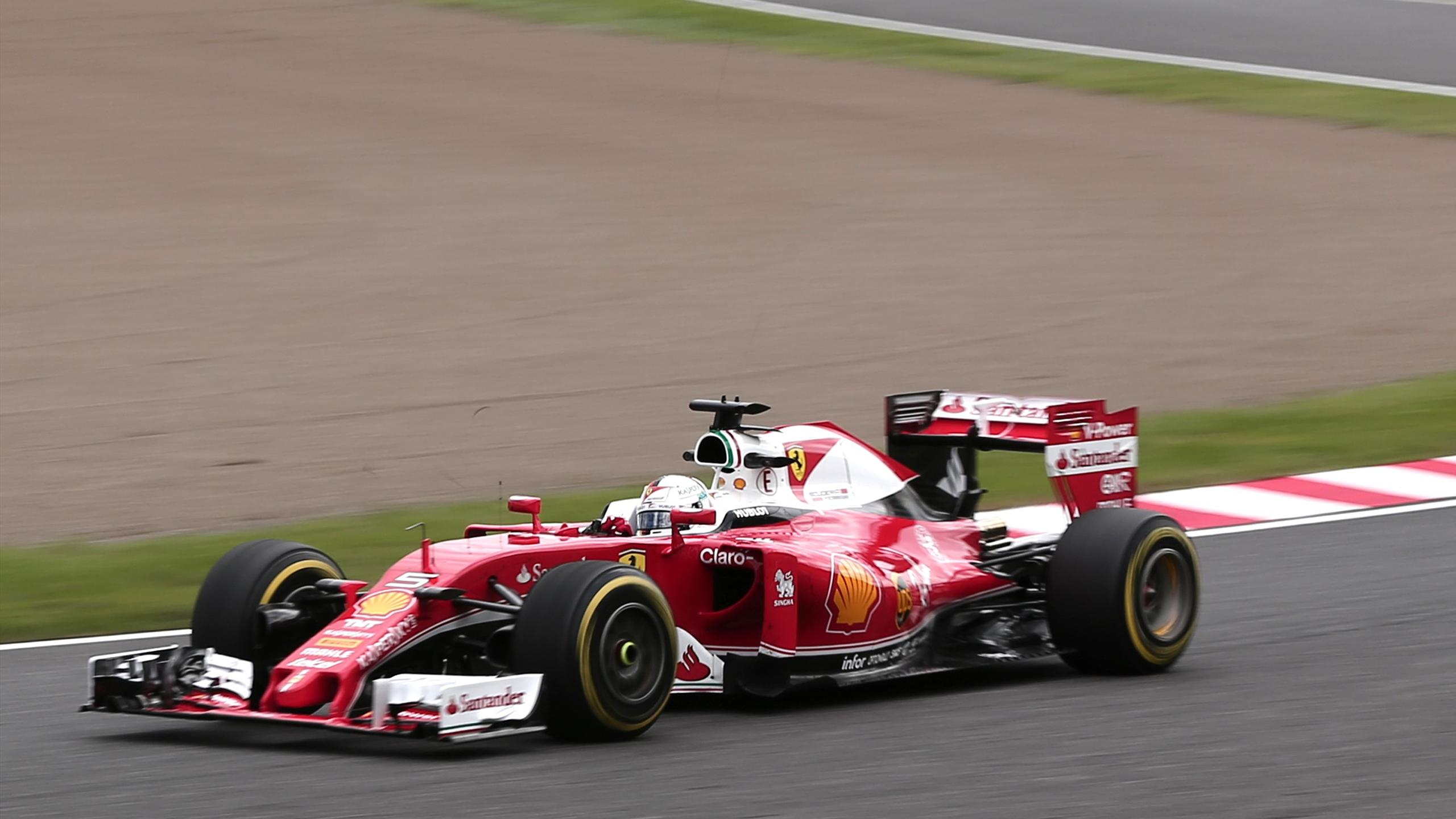 Sebastian Vettel (Ferrari) au Grand Prix du Japon 2016