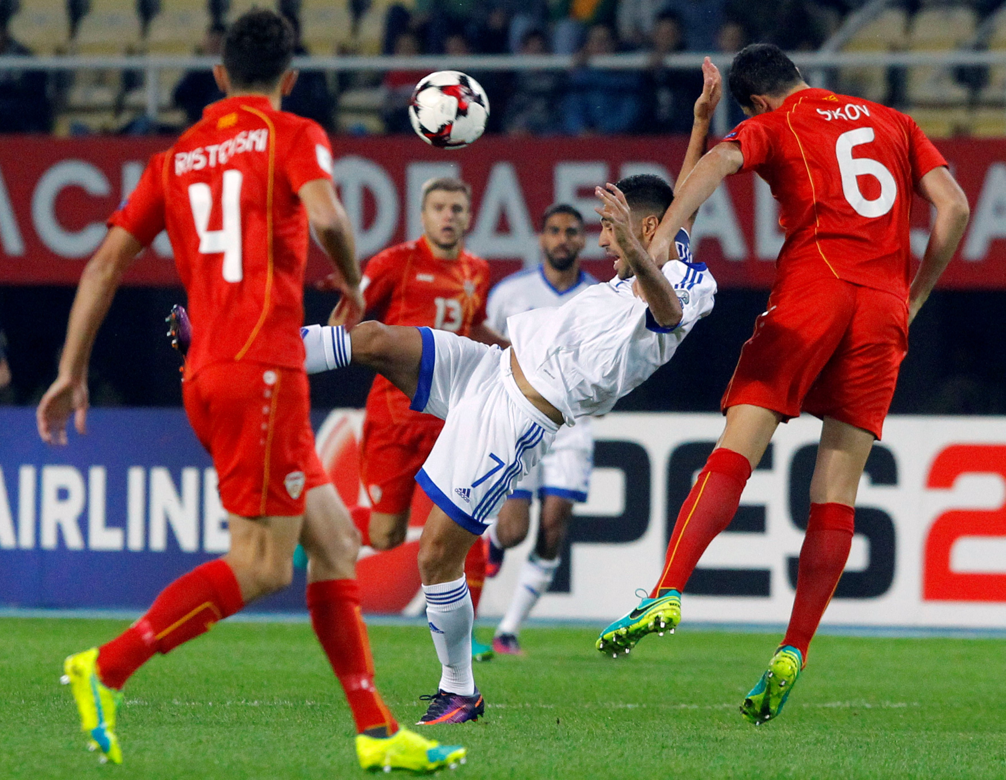 Russia 2018, qualificazioni: Macedonia-Italia in diretta. Live